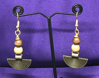 Brass Earrings Summer Earrings Egyptian Earrings Egyptian Jewllery Statement Earrings African Jewellery Gift For Her