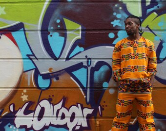 African Top - Hamed Top - Kente Shirt - African Shirt - African Print Shirt - African Clothing - Festival Clothing - Festival Shirt