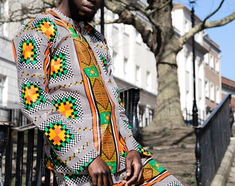 Ethical Clothing African Clothing Ethnic Shirt African Print Shirt Ankara Shirt African Top Festival Shirt African Shirt Festival Clothing