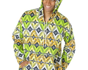 African Hoodie Ankara Hoodie African Clothing Festival Clothing African Shirt Ankara Shirt Dashiki Top Unisex Hoodie Ethical Clothing Africa