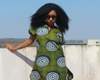 African Dress African Clothing African Shift Dress Casual Dress Festival Dress Ankara Dress African Dresses Summer Dress African Fashion
