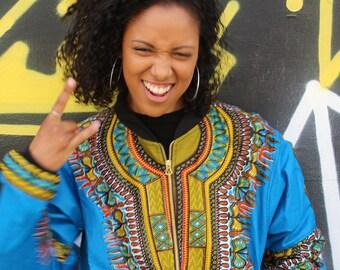 African Print Jacket Black Panther Oufit Wax Bomber African Clothing Dashiki Jacket Dashiki Bomber jacket Summer Jacket Wax Print Bomber