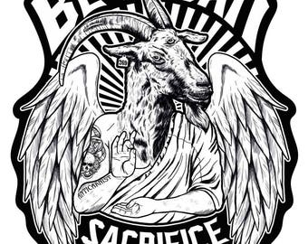 Be Vegan, Sacrifice Nothing Vegan Sticker by Anticarnist