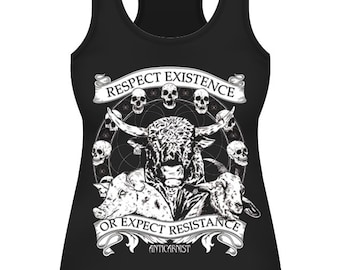 32c65ea19f4ae Vegan Fitted Tank Top