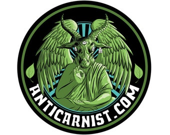 Anticarnist Vegan Sticker