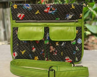 Mario Kart Sydney Crossbody Bag