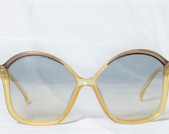 New genuine Christian Dior Vintage sunglasses 1970s Optyl Made in Germany 2128 80-Sunglasses Christian Dior years 70-new Old Stock