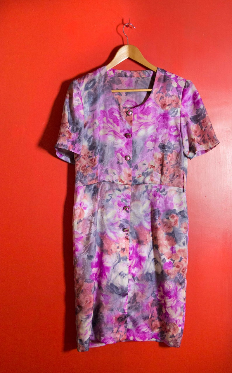 USED Vintage dress 1980s