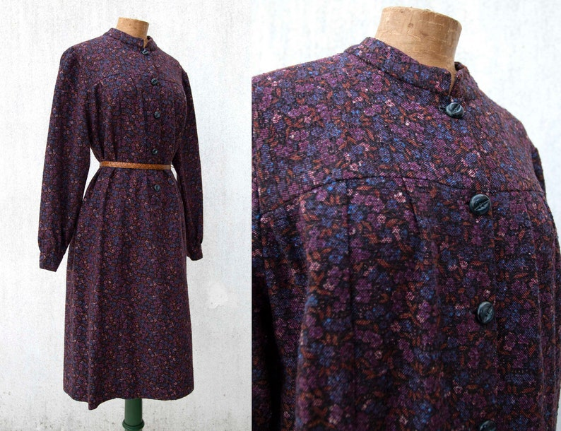 4f3e372a15c USED Vintage clothing Vintage women dress 1970s cucito a