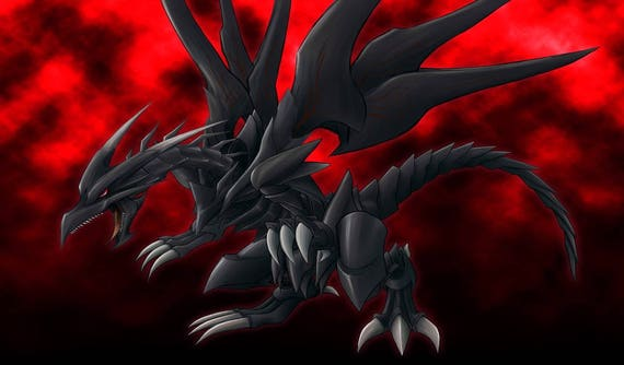 Yugioh Red Eyes Black Dragon