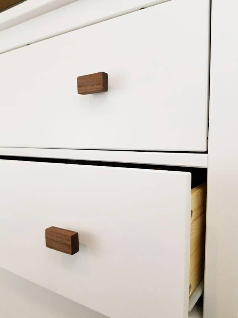 Etonnant Walnut Drawer Pulls // Simply Wooden Draw Pulls // Modern Drawer Pulls //  Drawer Pulls // Hardwood Drawer Pulls