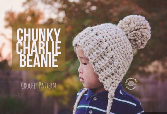 Crochet Chunky Charlie Bonnet Pattern Crochet Pattern Etsy