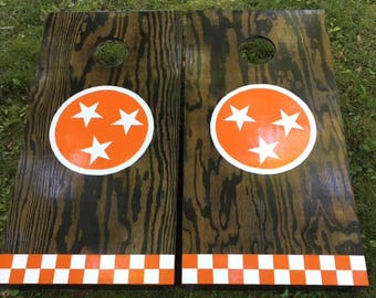 Tennessee Flag Cornhole Boards...