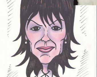 Custom Caricature, Caricature Portrait, Hand Drawn and Painted Caricature, Personalized Caricature, Custom Caricature from Photo, Gift Idea