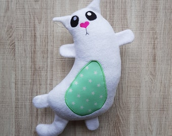 Kitty Plush ITH Embroidery Pattern