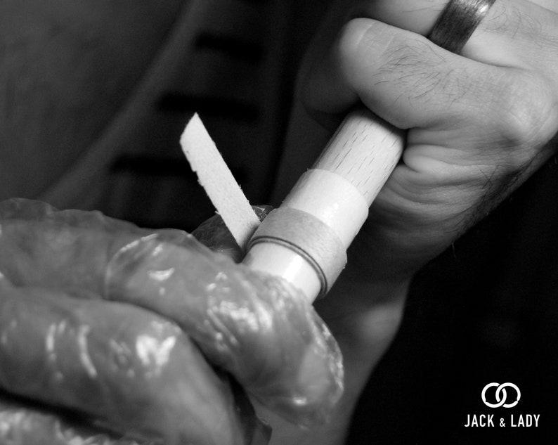 Wooden rings for men \u2022 Mens wooden ring \u2022 Handmade Wenge /& Oak bentwood rings