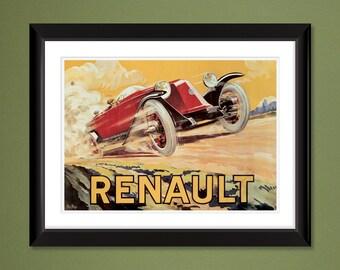 247c271255 Renault 1923 (12x16 Heavyweight Art Print)