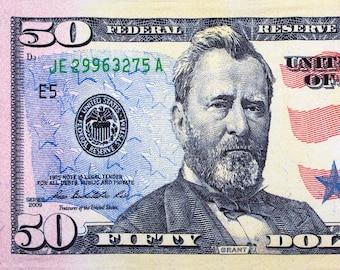 Donald Trump 2020 Dollar Bill Beach Towel 30x60