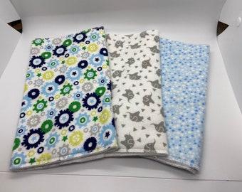 Peter Rabbit Baby Muslin Squares 5 Pack Burp Cloths Bib Gift New