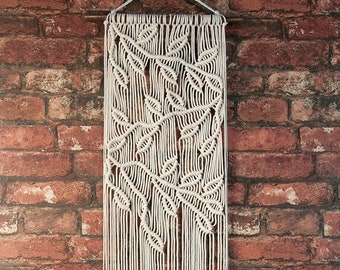 make ram diy macram wall hanging kit leaves and branches design mwh005