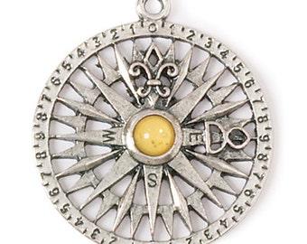 Compass Rose Pendant (STEAM054)