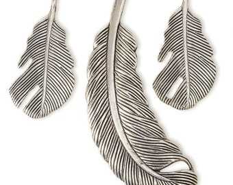 Feather Charms (STEAM109)