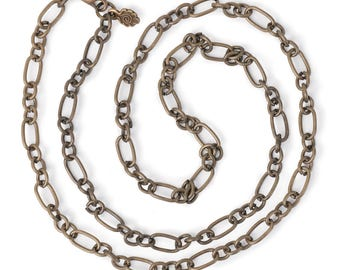 """Large Link Chain 24"""" Necklace"""