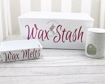 Wax Melts Storage Box / Personalised Wax Melt Storage Box
