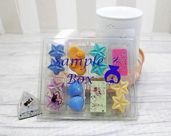 Wax Melts Mystery Box / Sample Box of Soy Wax Melts/ Soy Wax Melts/ Wax Melts Sample Box