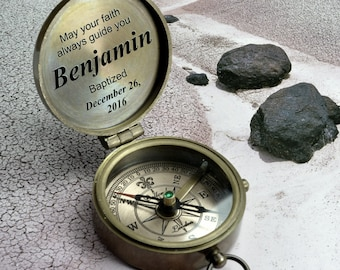 Compass, engraved compass, personalized compass, working compass, personalized gift, monogrammed compass, brass compass, Christmas gift