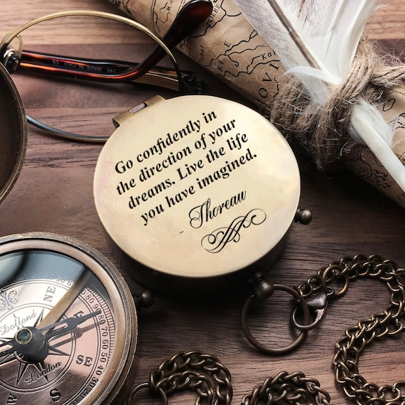 Mother day Unusual gift boyfriend motivational birthday valentine fathers day get well soon Baptism Motivational qoute beautifuly engraved compass graduation Best gift to any occasion