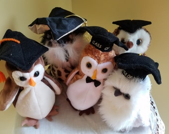3c2e8ec7962 Ty Beanie Owls