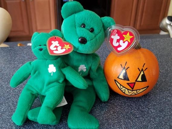 55dc2a0791d Ty Beanies Beanie Babies Erin Bear Collectible Bears St.