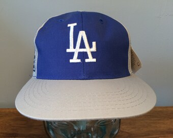 3a4273bca21ed New youth 90 s MLB Los Angeles Dodgers Annco Professional Model vintage  snap back kids very rare deadstock snapback