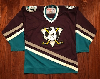 sports shoes 1a20f 43cac Mighty ducks jersey | Etsy