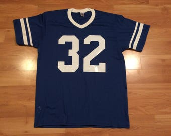 824317b23 XL vintage Mike Curtis men s football jersey T shirt Indianapolis Colts  blue white Augusta Sportswear