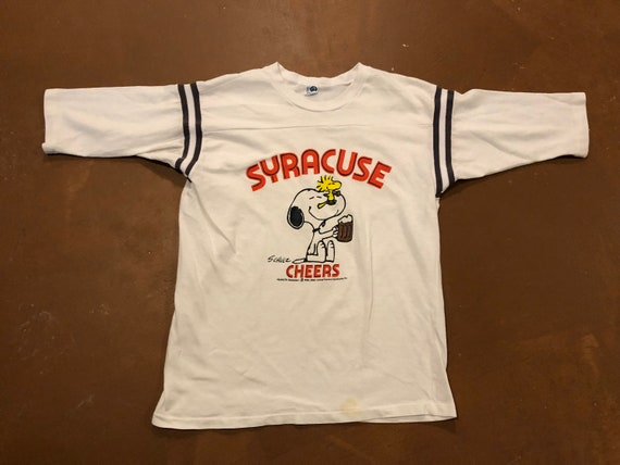 fb109b3b4 Large 80 s Syracuse University men s vintage shirt