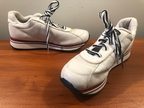 90's Tommy Hilfiger platform sneakers shoes men's… - image 3