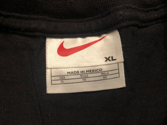 XL 90's Nike Air Max T shirt men's vintage black … - image 5