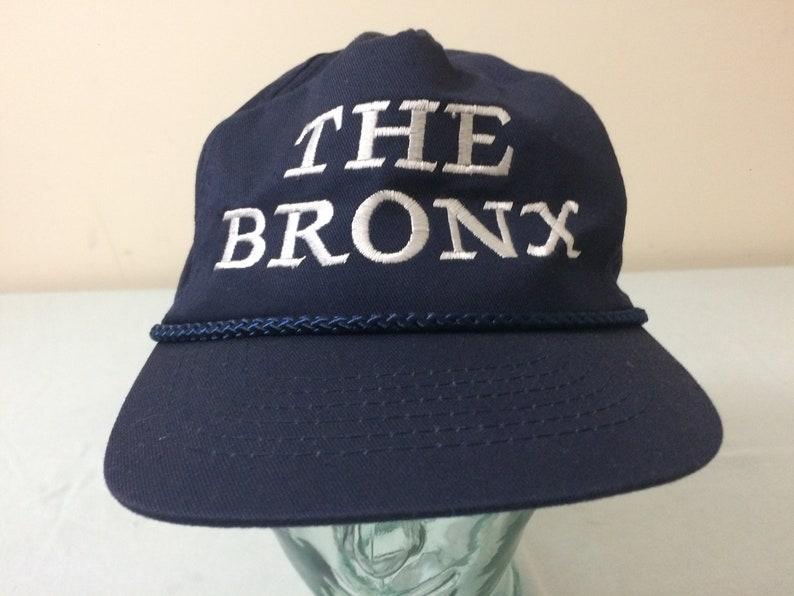 533509fc081 80 s The Bronx snapback hat baseball cap bark blue white