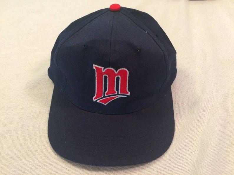 97a3a02b1b0 Kids Minnesota Twins vintage snapback baseball cap hat