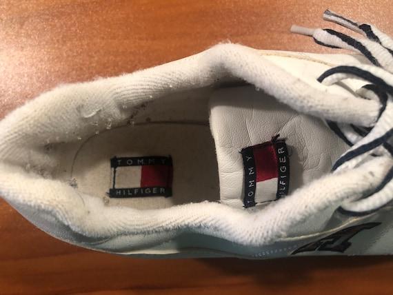 90's Tommy Hilfiger platform sneakers shoes men's… - image 5