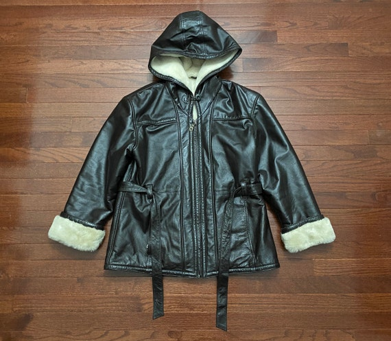 Women's Large 90's Wilsons Leather genuine leather