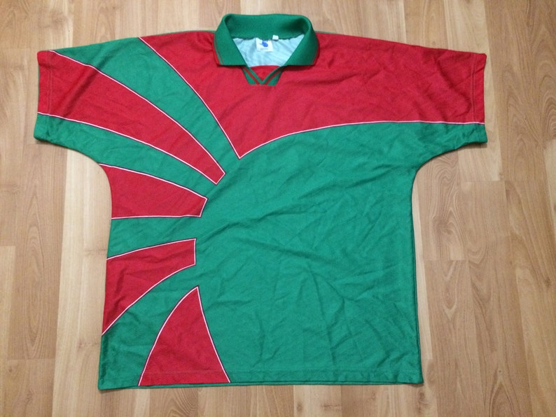 27597767d97 XL vintage Mexico soccer jersey men's green red 17 Hi 5 | Etsy