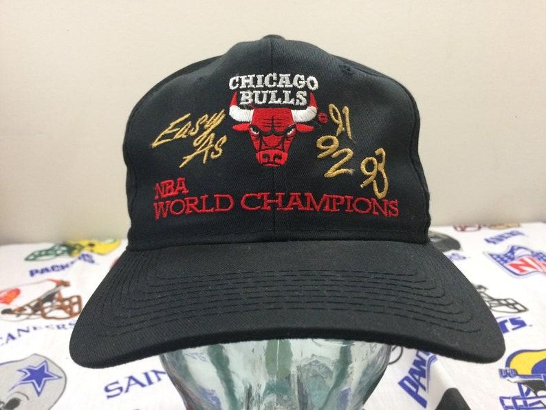 e23fec84e20 1993 Chicago Bulls baseball cap snapback hat NBA World