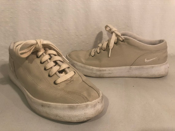 1999 Nike canvas sneakers shoes men's