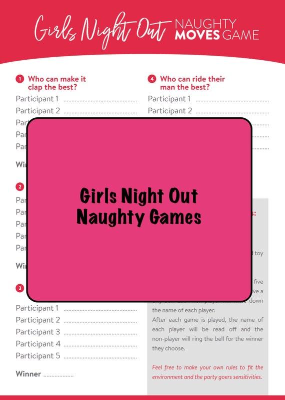 adult girls night games