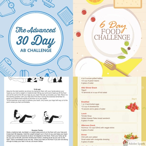 This is a picture of Monster Printable 30 Day Ab Challenge