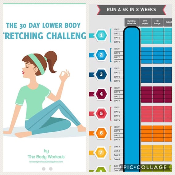 Training For A 5k 30 Day Lower Body Stretching Challenge