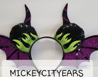 c313c20b6 Maleficent Dragon Wing Ears. MADE to ORDER